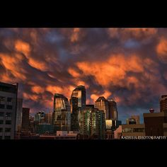 Shot these crazy formations over Calgary off our balcony last night. Oh I love our city #KatFishPhotography #nikon #nikontop #nikon_photography #nikond800 #allshots #all_shots #allshots_ #architecture #clouds #cityscape #capture_today #capturecalgary #cityskyline #city #followme #hdr #inspiring #instagood #jaw_dropping_shots #pro #picoftheday #photooftheday #sunset #skyscraper #skyporn #super_shotz #sharecalgary #urban  Instagram photo by @ironwillsturgeon (KatFish Photograpy)