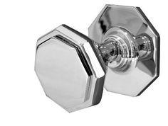 Octagonal Centre Door Knob on Rose- 85mm - Polished Brass, http://www.amazon.co.uk/dp/B00GK5REHQ/ref=cm_sw_r_pi_awdl_60gJvb1EGBWPG