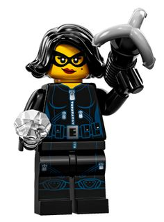 LEGO 71011 SERIES 15 ANIMAL CONTROL LADY OFFICER # 8 LOOSE FREE SHIPPING !!