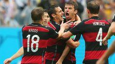 Grupo G: Alemania 1 - Estados Unidos 0