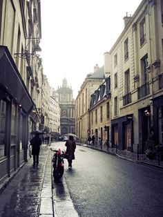 Paris street in Rain by Romeika Cortez Wonderful Places, Beautiful Places, Amazing Places, Rainy Paris, Paris Architecture, Paris Images, Paris Street, Paris Travel, Adventure Is Out There