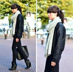 Get this look: http://lb.nu/look/4069768  More looks by Lucy De B.: http://lb.nu/lovelybylucy  Items in this look:  Quilted Bomberjacket