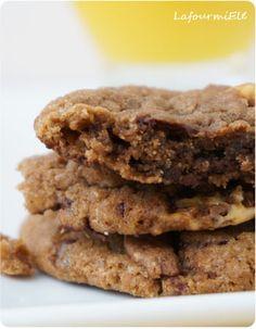 Biscuits tendres aux pépites de chocolat