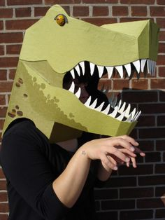 Halloween Beast Masks | The Paper Place Blog