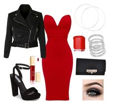 """Date Night"" by lucabella2001 on Polyvore featuring Steve Madden, Essie, ASAP and Cole Haan"