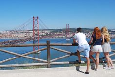 Best views Miradouros in Lisbon Portugal, Great View, City, Pictures Of Christ, Pisces, Paisajes, King, Places, Tejidos
