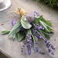 "32 Likes, 5 Comments - Sophie Duncan (@deerdaisystationery) on Instagram: ""Pretty little herb bouquet 🌿  Image via Pinterest, Bridal Musings Wedding Blog x  #ecowedding…"""