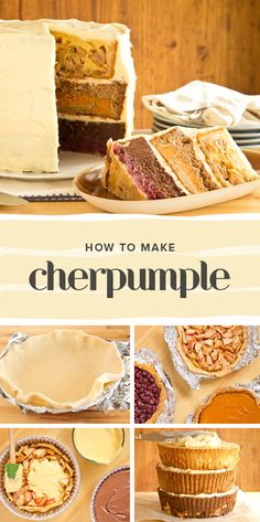 Cherpumple might seem complicated, but it's actually quite easy to make. It's a great dessert idea for when guests are coming over.