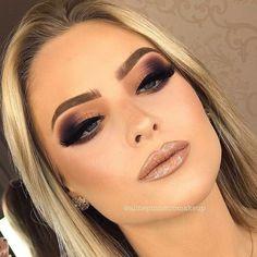 Curso para a aluna TOP Batom Virgem + Gloss Zodiac! Glam Makeup, Sexy Makeup, Pink Makeup, Flawless Makeup, Cute Makeup, Bridal Makeup, Wedding Makeup, Beauty Makeup, Hair Makeup