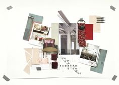 January Masterclass with Eclectic Trends- Mood Board by Maria Moreno #MoodboardingForProfessionals