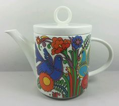 VILLEROY AND BOCH ACAPULCO TEAPOT (PERFECT)