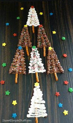 christmas tree pretzels Ovation sticks