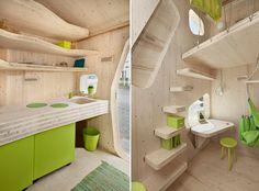 Mini vivienda lowcost para estudiantes toda en madera Espacios en madera