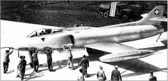 P-16.01 (1955) Swiss multirole fighter prototype Swiss Air, Military Jets, Cold War, Spacecraft, Airplanes, Ww2, Switzerland, Air Force, Fighter Jets
