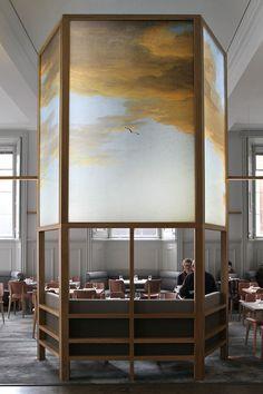 Dix lieux a haute personnalite Architecture Restaurant, Luxury Restaurant, Restaurant Concept, Restaurant Design, Interior Architecture, Restaurant Restaurant, Design Hotel, Commercial Interior Design, Commercial Interiors