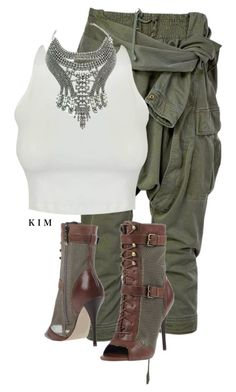 Untitled #3373 by kimberlythestylist on Polyvore featuring polyvore fashion style Faith Connexion GUESS clothing