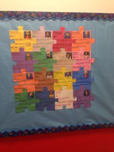 All about me bulletin board All About Me Preschool Theme, All About Me Crafts, All About Me Activities, First Day Activities, Toddler Classroom, Preschool Classroom, Classroom Activities, Preschool Activities, Creative Curriculum Preschool