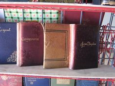 Assorted Soft Leather Literature & Poetry - Late 19th & Early 20th Century- $30 Each