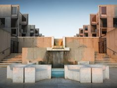 San Diego: Salk Institute.  Salk selected the world-renowned architect Louis I. Kahn as the person who could design the facility that he envisioned.