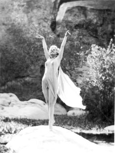 Jean Harlow by Edwin Bower Hesser at Griffith Park in Los Angeles 1928-29
