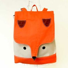 Backpack - The Fantastic Fox UNISEX BackPack (Tangy Fawn) 4 WEEKS TURNAROUND