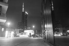 night in Gae Aulente. MyBike. MyCity. Milan