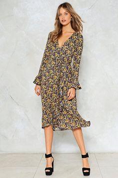 Summer Fever Floral Dress