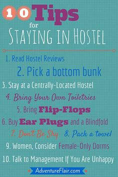 Hostel Tip, Budget Traveling in Europe, Eastern Europe Travel Trick and more >>> http://www.adventureflair.com/ Budget travel tips #travel #budget