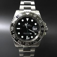 Rolex GMT Master II 116710LN (2013). #watchmania #wristwatch #watchoftheday #timepiece #secondhand #instawatch #secondoriginalwatch #jamtanganseken #preownedwatch #luxurywatch #watchaholic #indonesiawatchexchange http://ift.tt/2vPcVvX