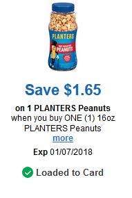 Kroger 25 Days or Merry: $1.65/1 Planters Peanuts, $1/1 Uncle Bens and More!