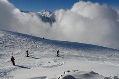 Caucasus. Karachay-Cherkessia. Dombay. On Mount Musa Achitara.
