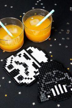 DIY Dessous de verre Star Wars - Bonjour Darling Star Wars, Deco, Gifts, Projects, Decor, Deko, Decorating, Starwars, Decoration