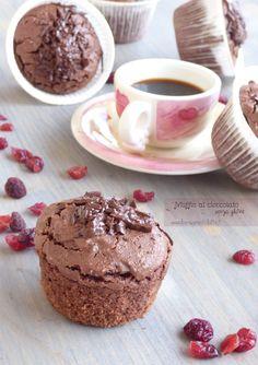 muffin al cioccolato senza glutine senza lattosio