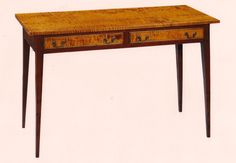 antique cherry hall table   Treharn antique reproductionsHall Table HT113 in Small Tables ...
