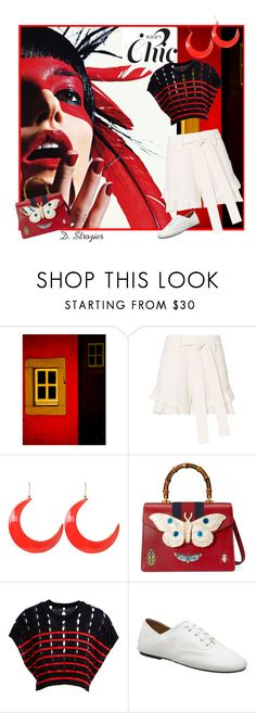 """""""Chic (Top Fashion Set)"""" by deborah-strozier ❤ liked on Polyvore featuring ESPRIT, 10 Crosby Derek Lam, STELLA McCARTNEY, Gucci, T By Alexander Wang and whitesneakers"""
