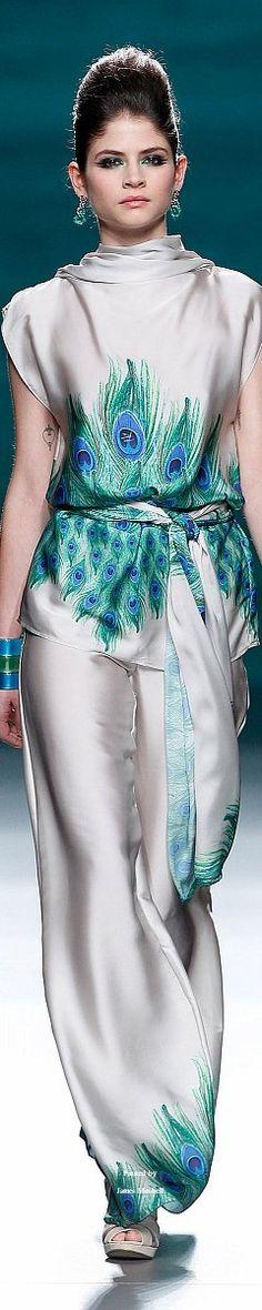 Color fashion Glam / Francis Montesinos Fall-winter 2014-2015