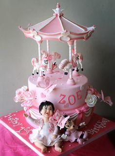Zoe's Pink Carousel