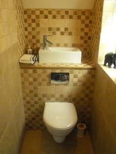 Space saving design used in a small cloakroom