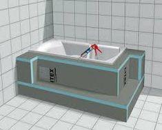 Bildresultat för trappa inbyggt badkar