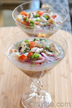 Oyster ceviche recipe | Easy recipes with step by step photos