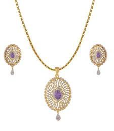 Buy Heena Contemporary Collection Pendent Set >> HJPN152PL << Pendant online