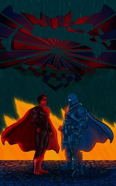 Duel #WhoWillWin #Superman.