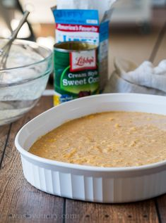 The base of the casserole is made with a corn muffin mix and creamed corn. So easy and delicious! Raw Food Recipes, Mexican Food Recipes, Chicken Recipes, Cooking Recipes, Mexican Desserts, Freezer Recipes, Freezer Cooking, Fall Recipes, Drink Recipes