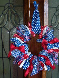 The Baeza Blog: $5 -Dollar Tree Ribbon Wreath