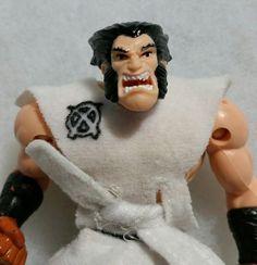 1996 X-Men WOLVERINE Ninja Warrior Marvel Comics Toy Biz Action Figure Doll #ToyBiz