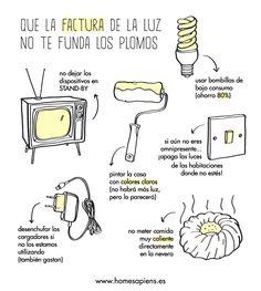 Sube la factura de la luz y hay que tomar medidas... http://homesapiens.es/2013/04/ahorra-en-el-recibo-de-la-luz/                                                                                                                                                     Más