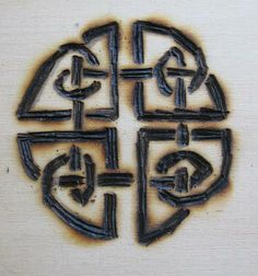 Haxon witchcraft symbols and rituals | The Celtic shield knot is used for warding and protection.