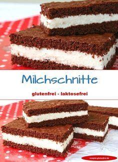Glutenfreie Milchschnitte! www.rezepte-glutenfrei.de