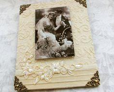 Wedding Photo Frame Handmade Frames 8 x 10 by LovelythingsStudio, $68.00