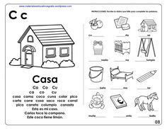 CUADERNO PARA APRENDE A LEER I MATERIAL EDUCATIVO English For Beginners, Alphabet Worksheets, Dual Language, Sistema Solar, Syllable, Spanish Class, Speech Therapy, Preschool, Activities